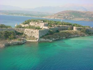 Fort Kastro in Crete, Greece