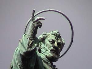 Statue in Naples