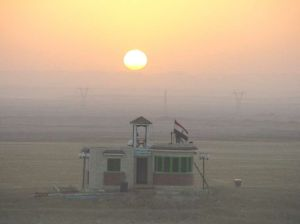 Egypt Sunrise in Suez