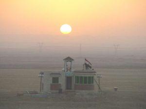 Egypt Sunrise in Suez