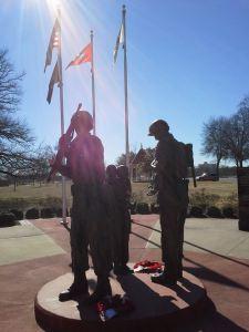 Veteran's Memorial at MacArthur Museum in Little Rock